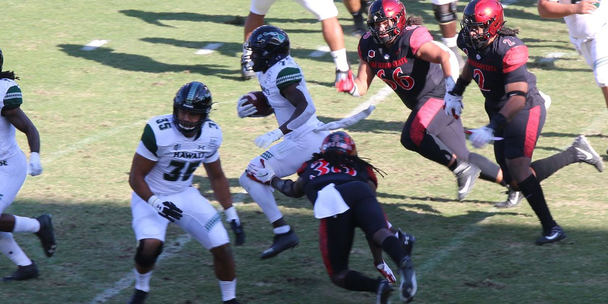 'Bows get second loss of the season after falling to SDSU, 34-10