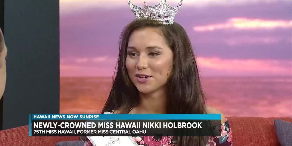 BYU Hawaii student becomes newly crowned Miss Hawaii 2019