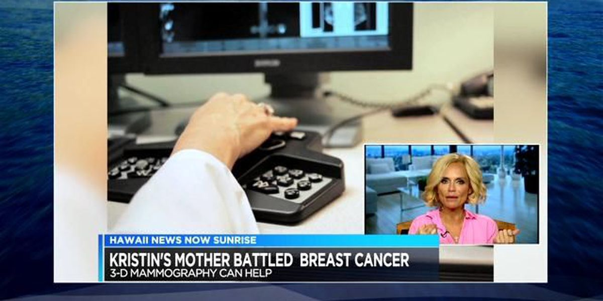 Tony & Emmy-winning actress Kristin Chenoweth helping to raise awareness for breast cancer