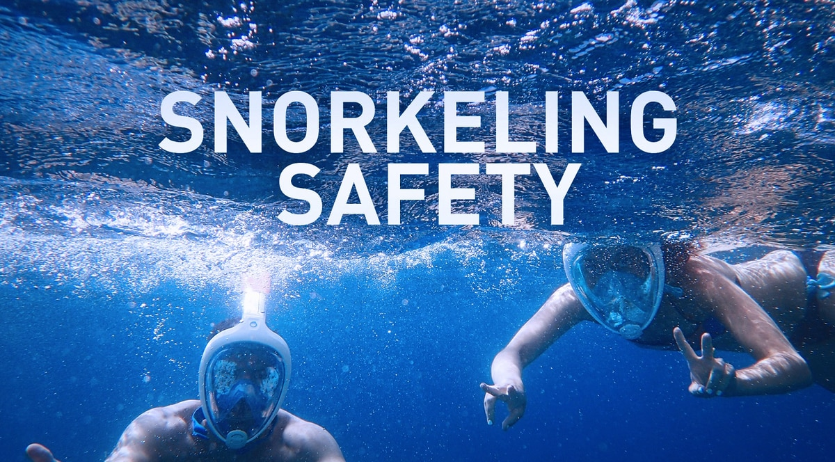 Spike in snorkel-related deaths again highlights potential danger of full-face masks