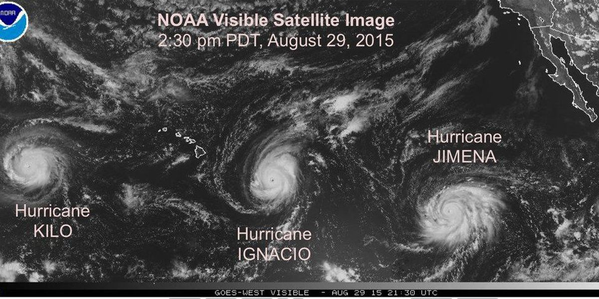 Record-breaking hurricane season wraps up with close calls for Hawaii, but it's not over yet