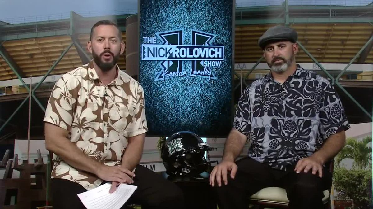 Week 7: Hawaii reclaims Paniolo Trophy vs. Wyoming | The Nick Rolovich Show