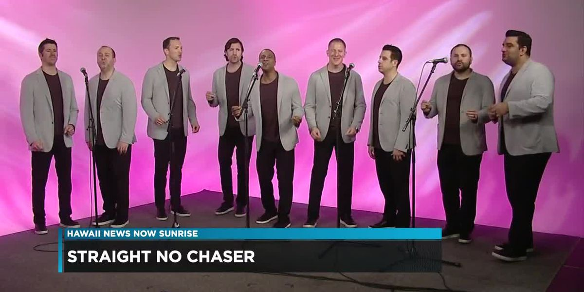 A capella group Straight No Chaser stops in Hawaii on 'Open Bar' tour