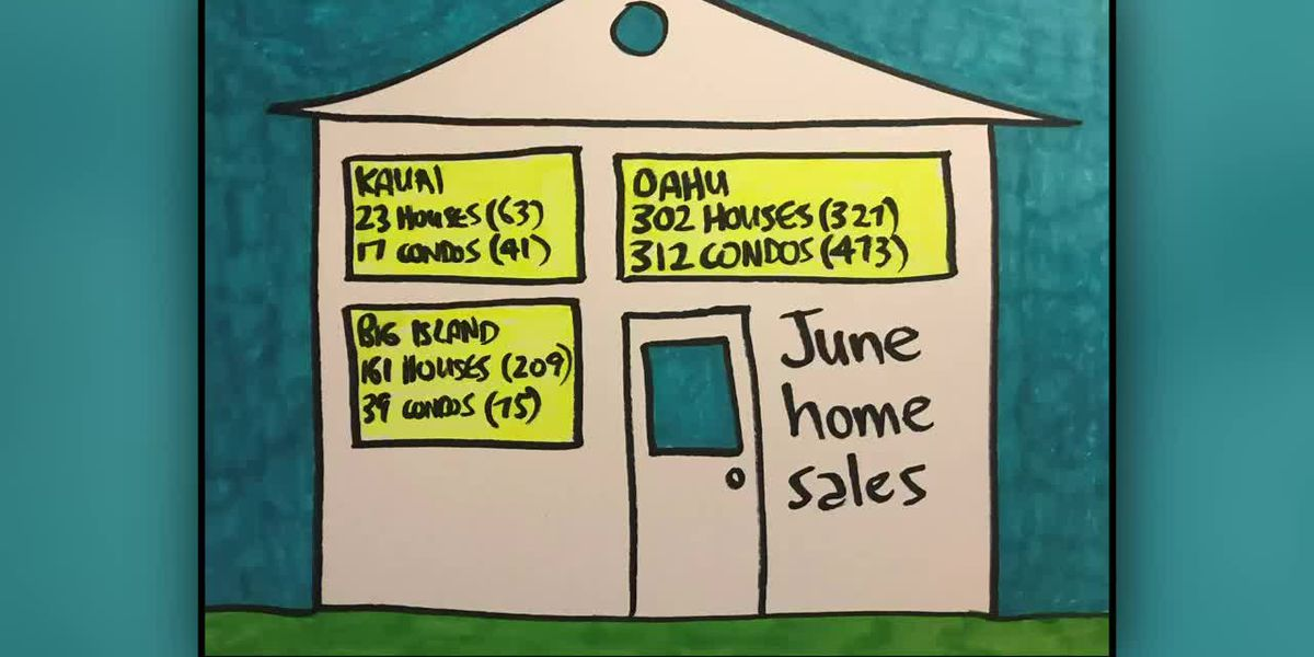 Business Report: June home sales