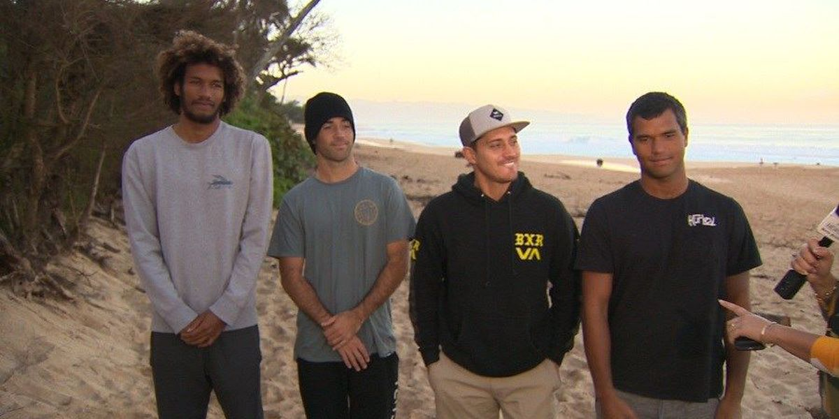 It's on: 8 teams vying for title in Da Hui Backdoor Shootout surf contest