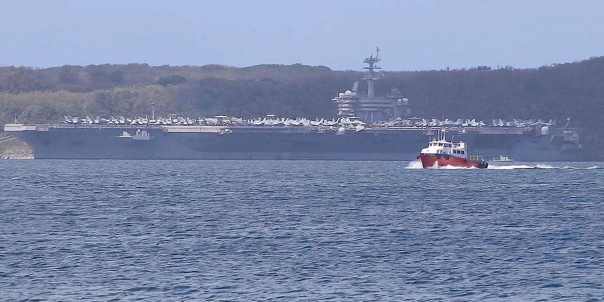 US warship captain seeks crew isolation as coronavirus spreads