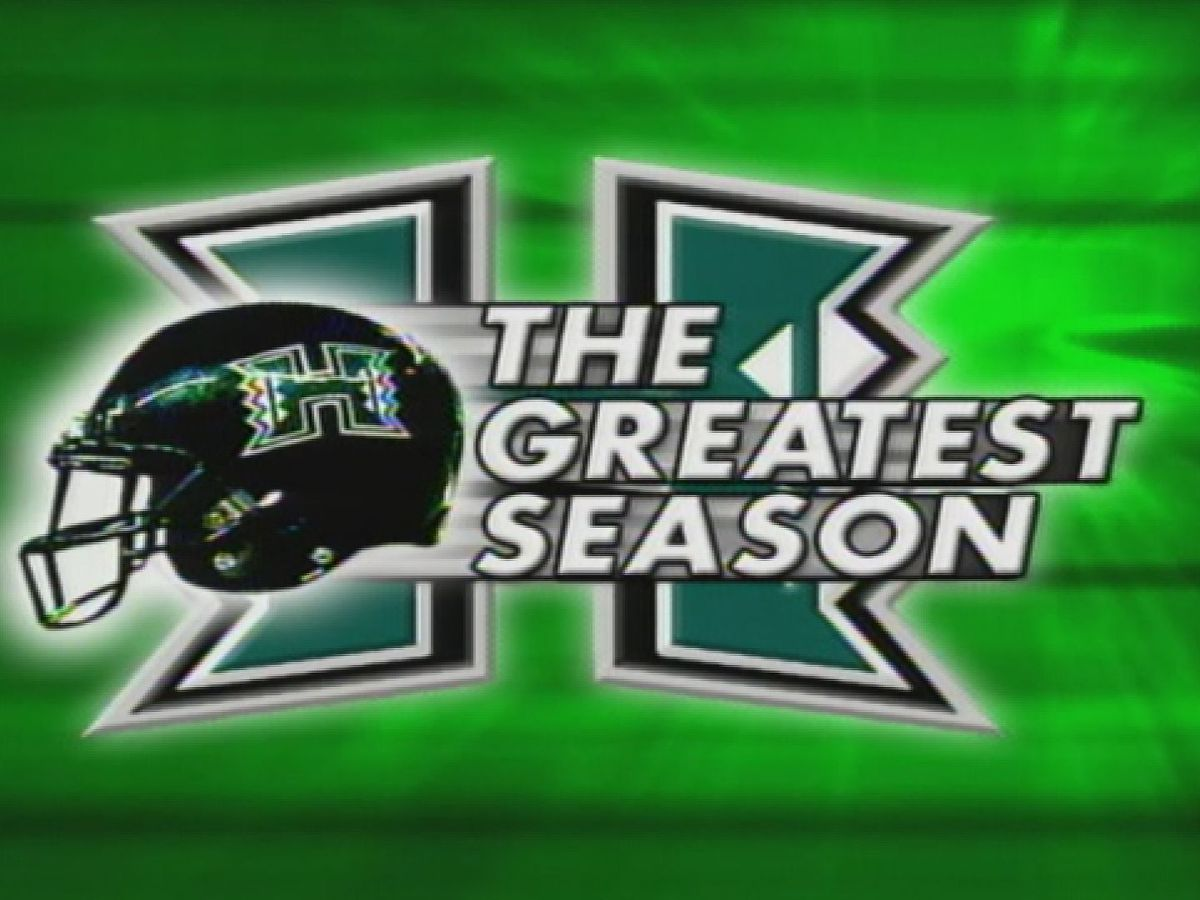 Relive the Colt Brennan era with 'The Greatest Season,' an hour-long special on the 2007 season
