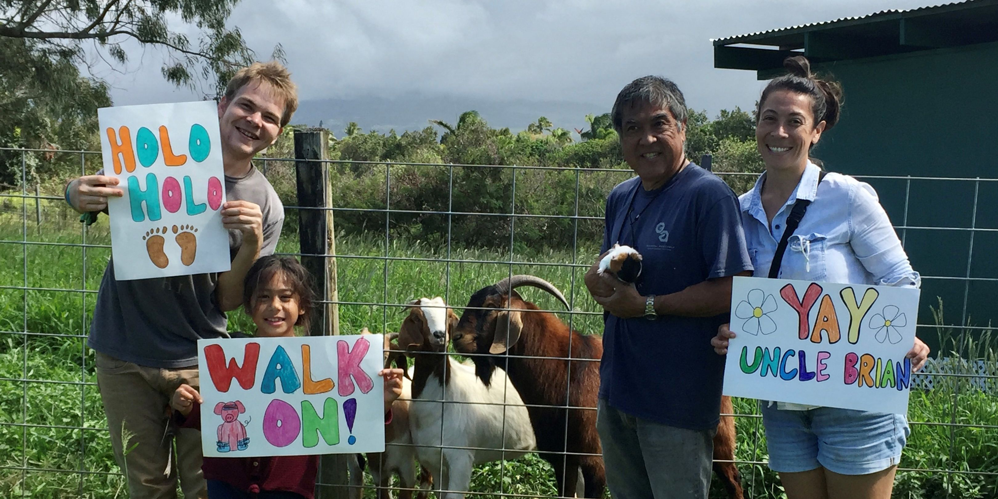 A Maui man is walking 165 miles to raise money for charity. He says it's worth every step.