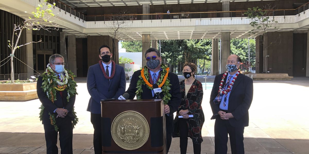 Hawaii lawmakers finish session after huge federal aid boost