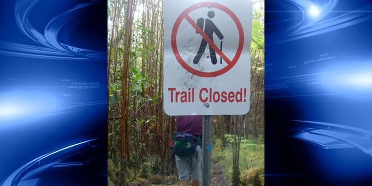 Hikers cited after getting lost on Big Island trail