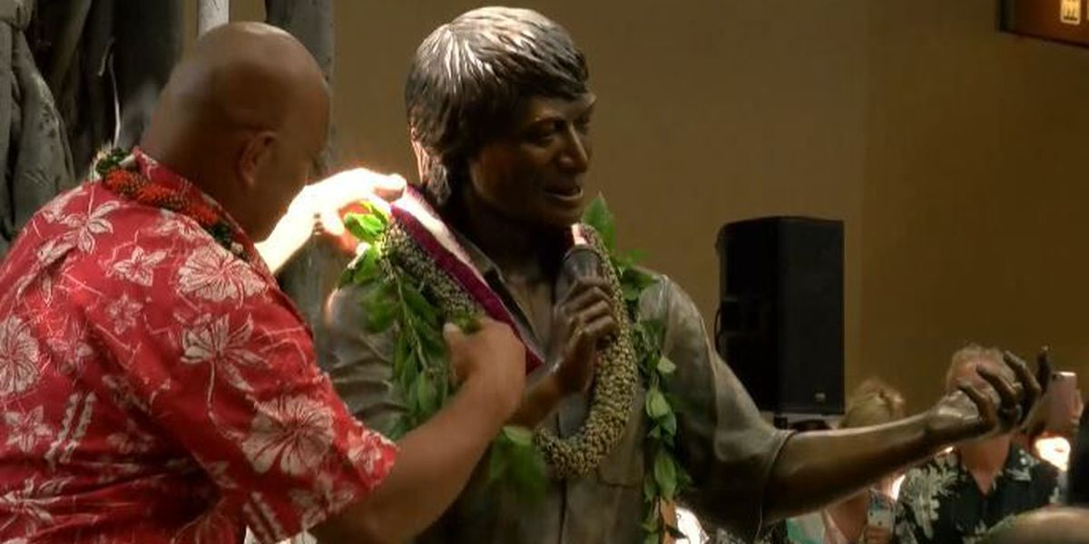 Don Ho statue unveiled in Waikiki on what would have been his 87th birthday