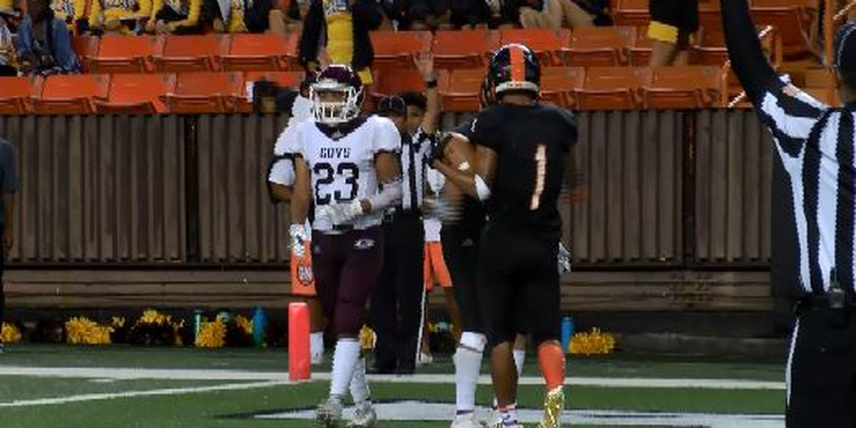 Campbell earns state title berth over Farrington, 42-26