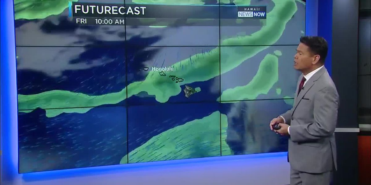 Forecast: Wet weather, possible thunderstorms by late Thursday