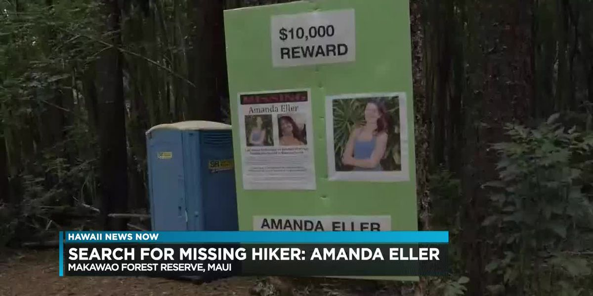 The search for a missing hiker continues by family and friends on Maui