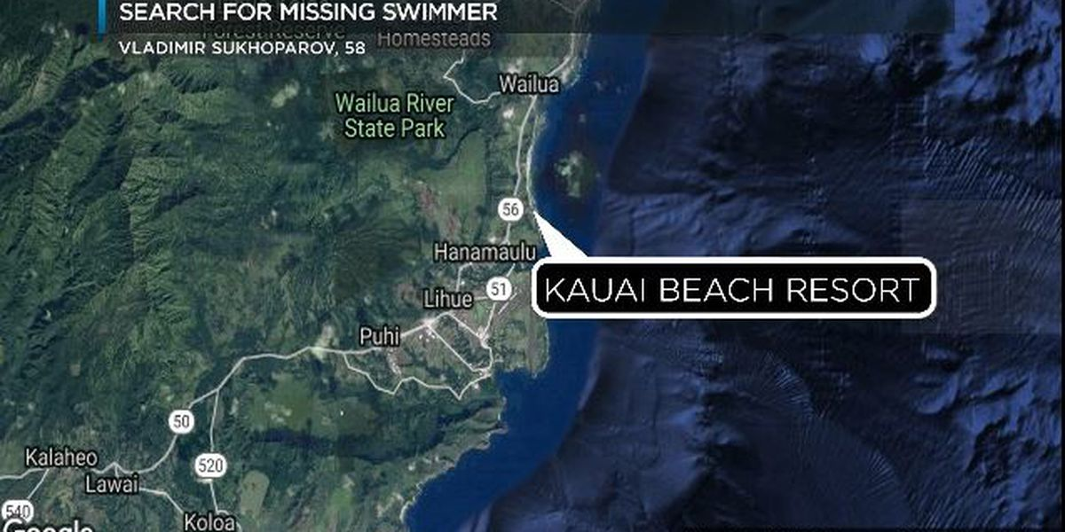Search called off for missing Ohio man in Kauai waters