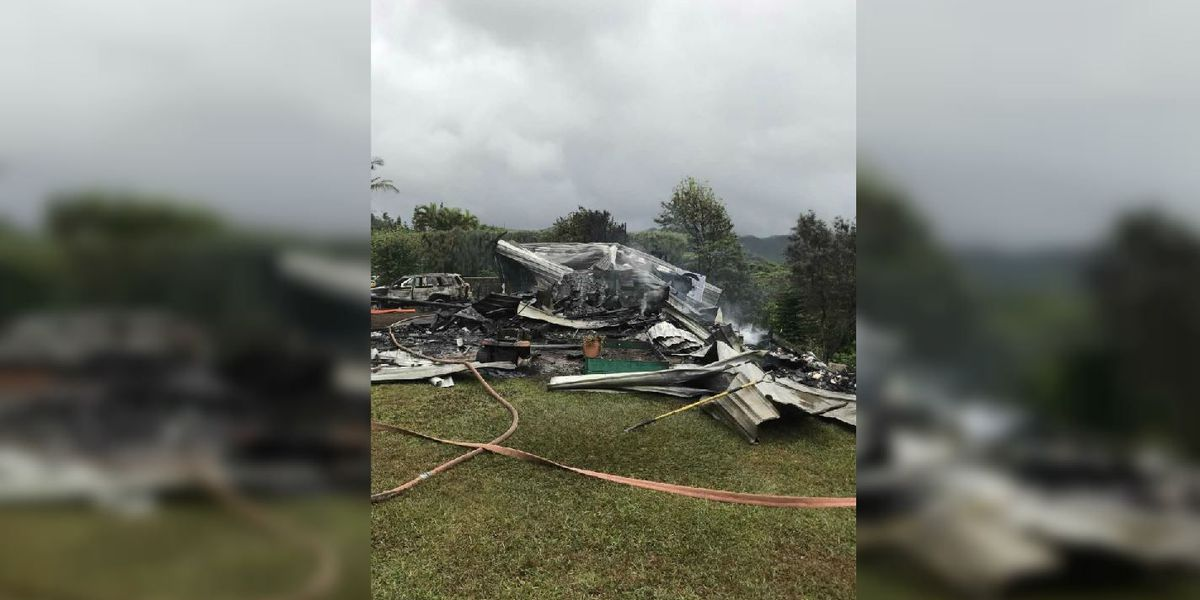 Kauai couple displaced by fire that caused $700K in damage