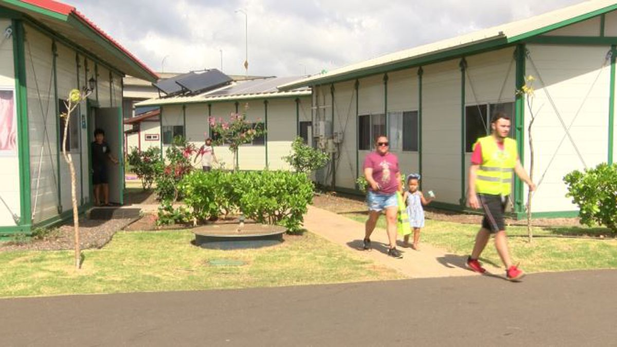 What was once just a vision for Oahu's homeless is now a thriving community