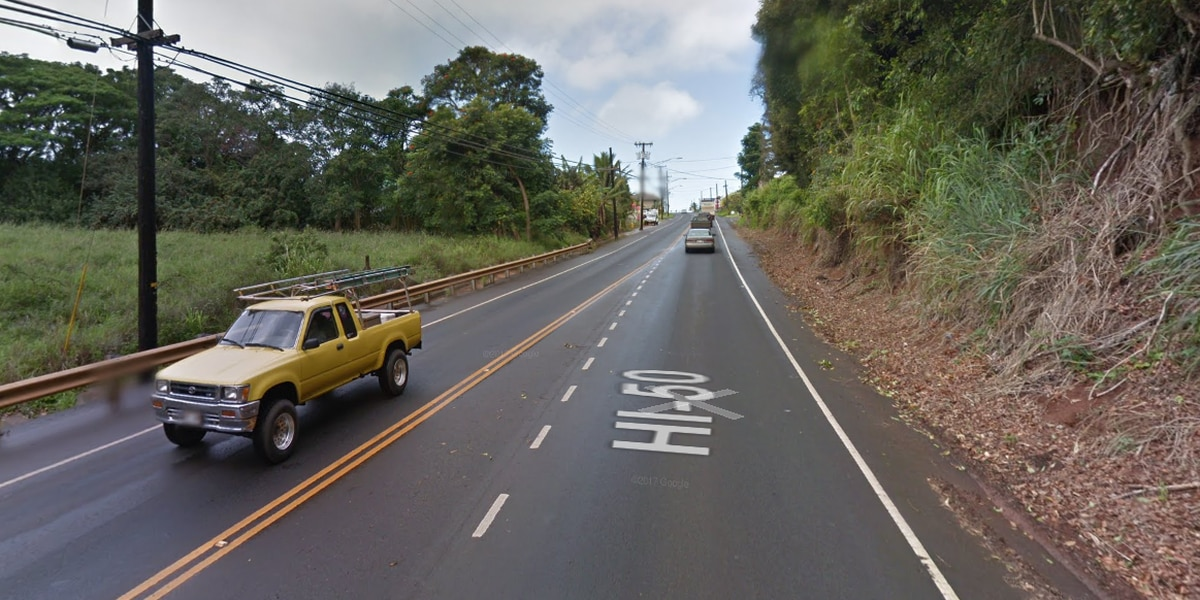 Kauai man who died after Kalaheo crash identified