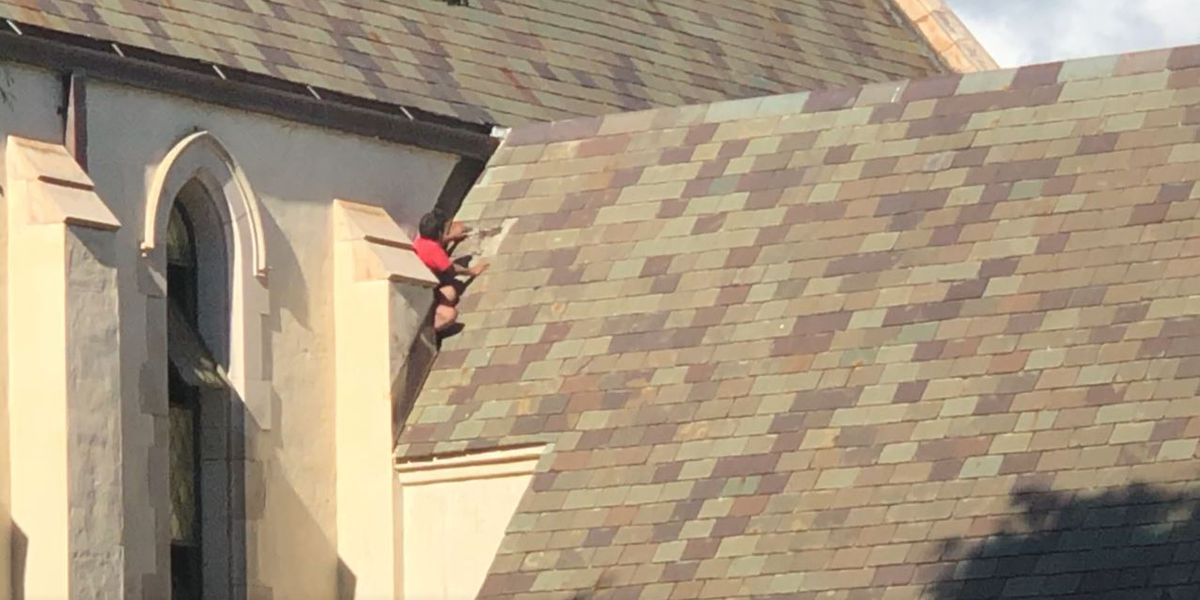 HPD arrests woman who was on the roof of a Honolulu church for almost 2 hours