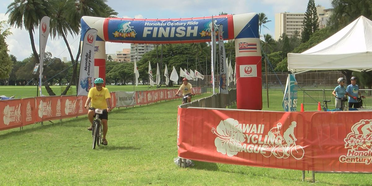 Hundreds pedal across Oahu to promote bicycle safety awareness