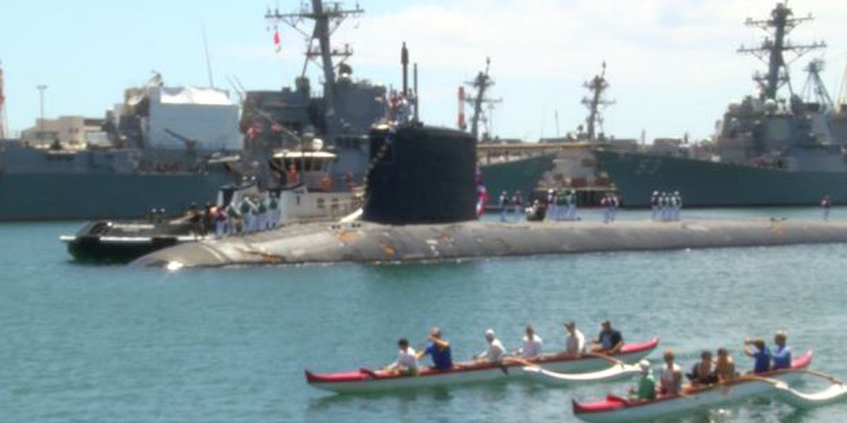 After 6-month deployment, USS Hawaii returns to Pearl Harbor