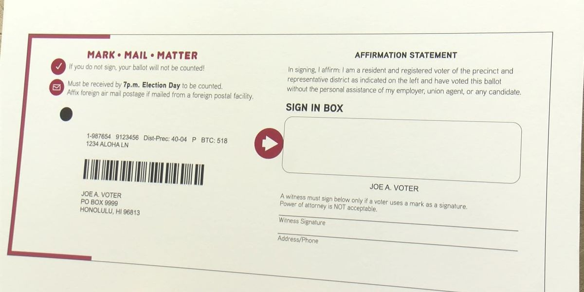 With primary election just weeks away, all registered voters should have their mail-in ballots