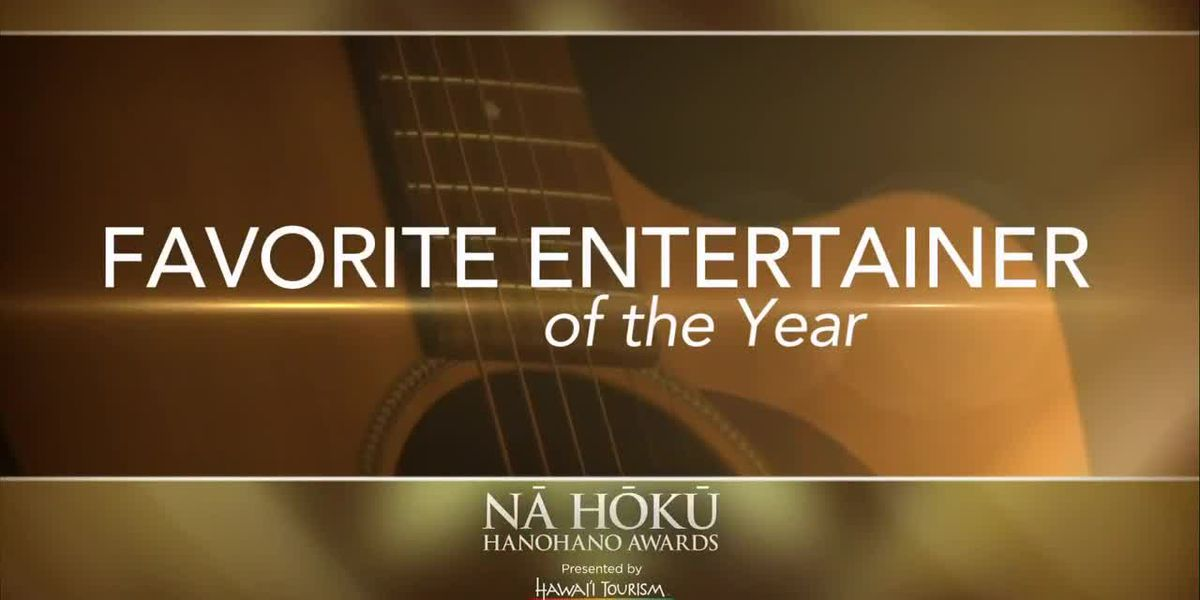 2019 Na Hoku Hanohano Awards: Favorite Entertainer of the Year