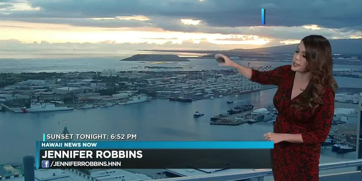 Aloha Friday - Weekend Forecast; Meteorologist Jennifer Robbins