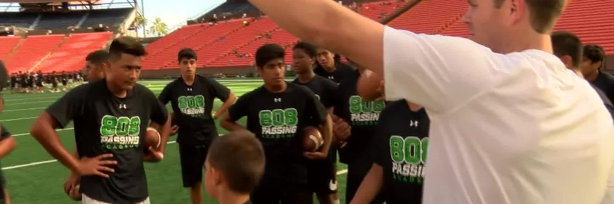 808 Passing Academy is Schroeder's way to 'pay it forward'