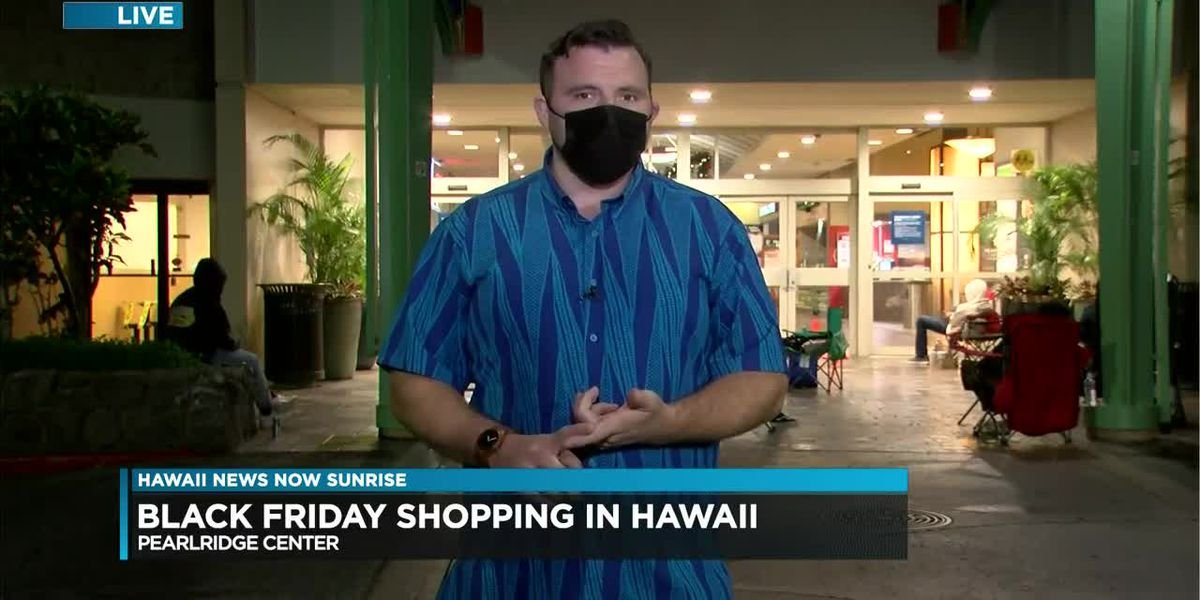 Some shoppers line up for deals at Hawaii malls, but an overall quiet start to Black Friday