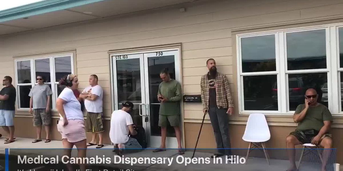 Long-awaited medical marijuana dispensary finally opens in Hilo
