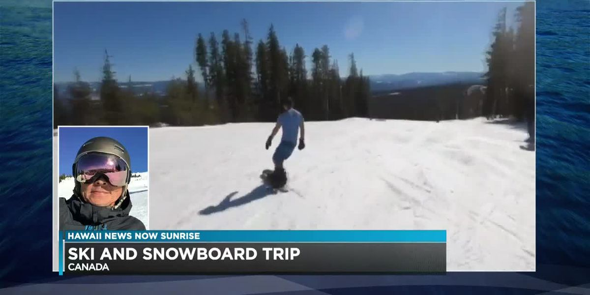 Guy Hagi talks about some of the winter conditions in Canada