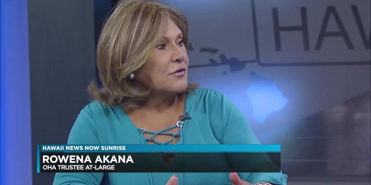 OHA trustee at-large candidate: Rowena Akana