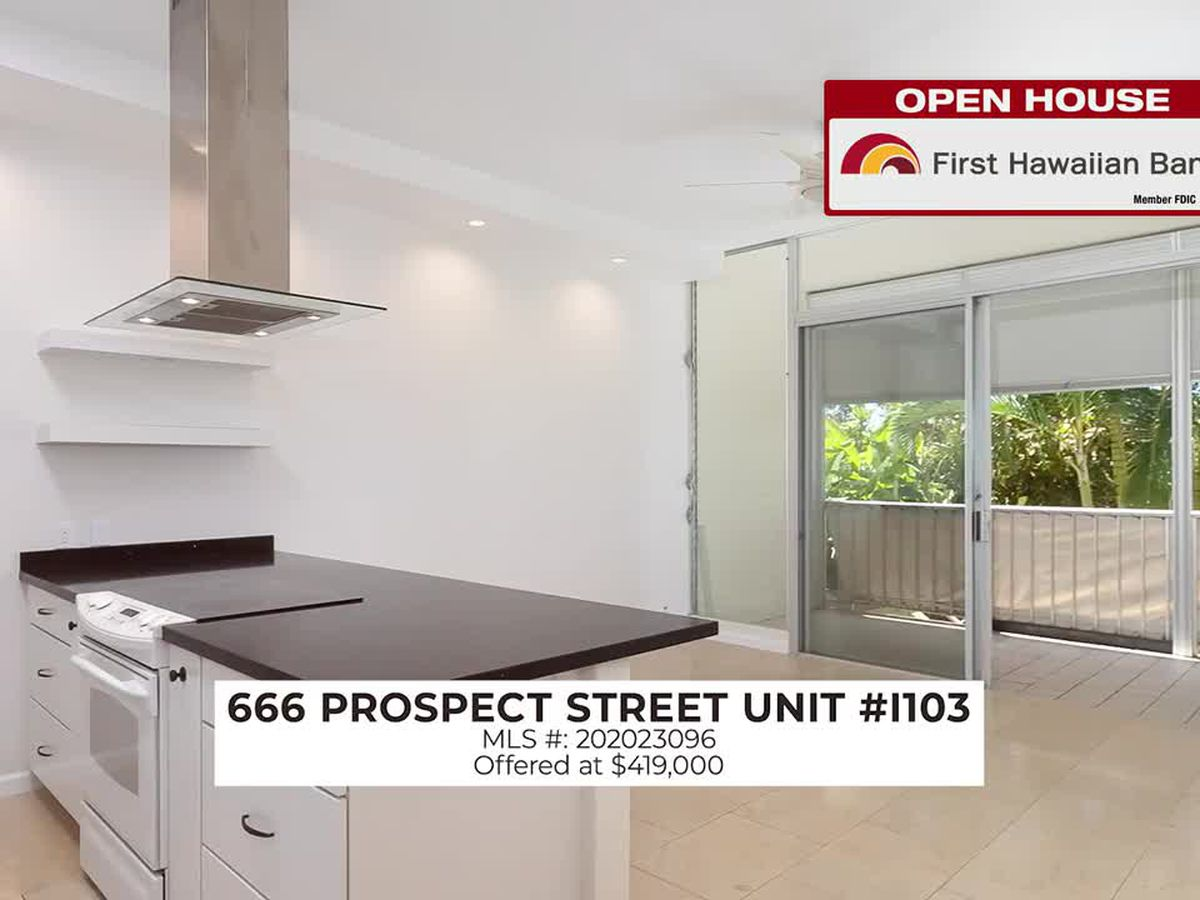 Open House: Condominium in Punchbowl and 2 BD, 1 BA Home in Ridgecrest-Melemanu