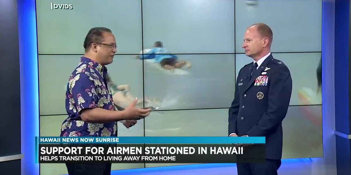 Hanai Airman program connects Air Force members with community