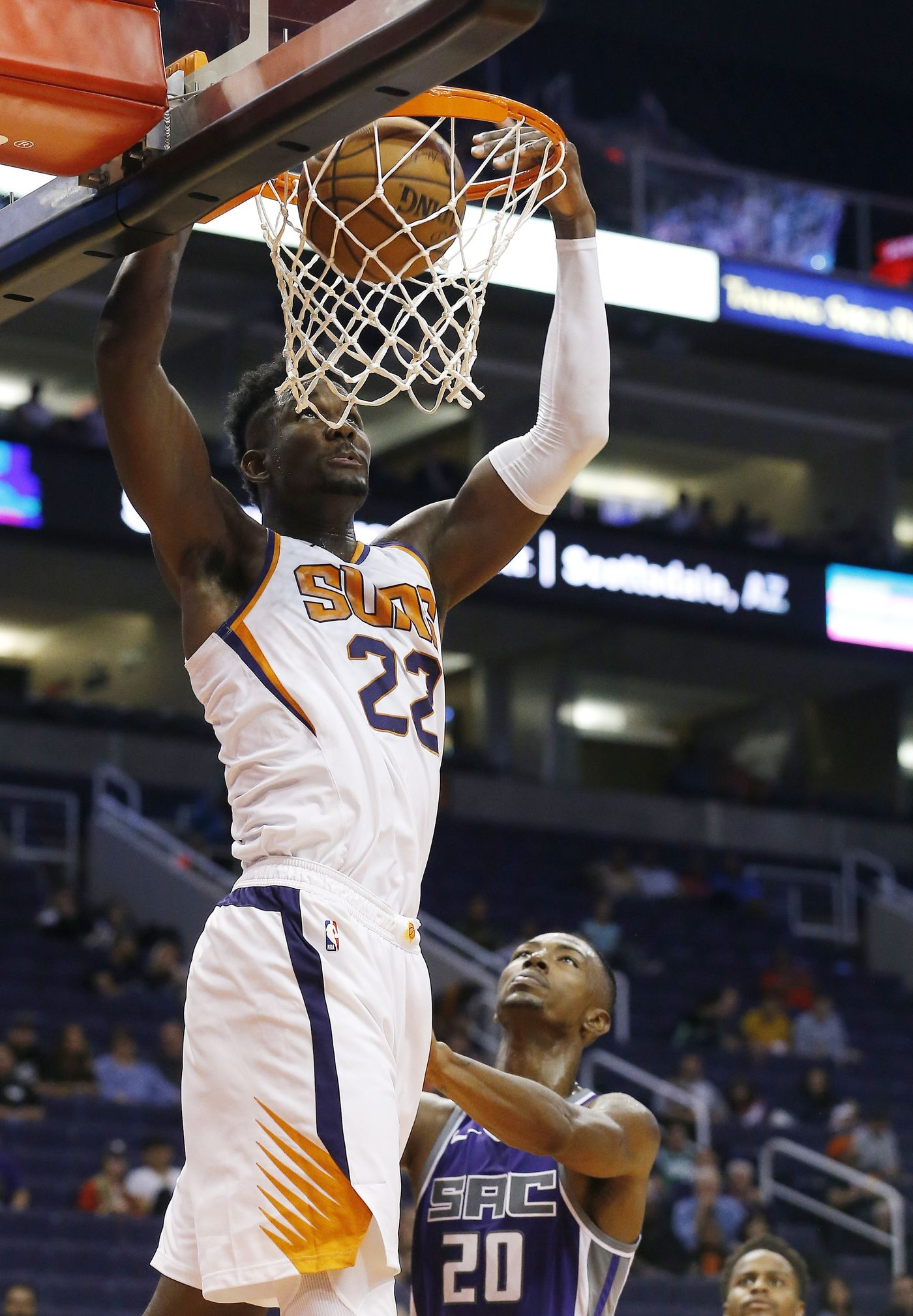 Dominant Debut For No 1 Pick Ayton In Suns Exhibition Game