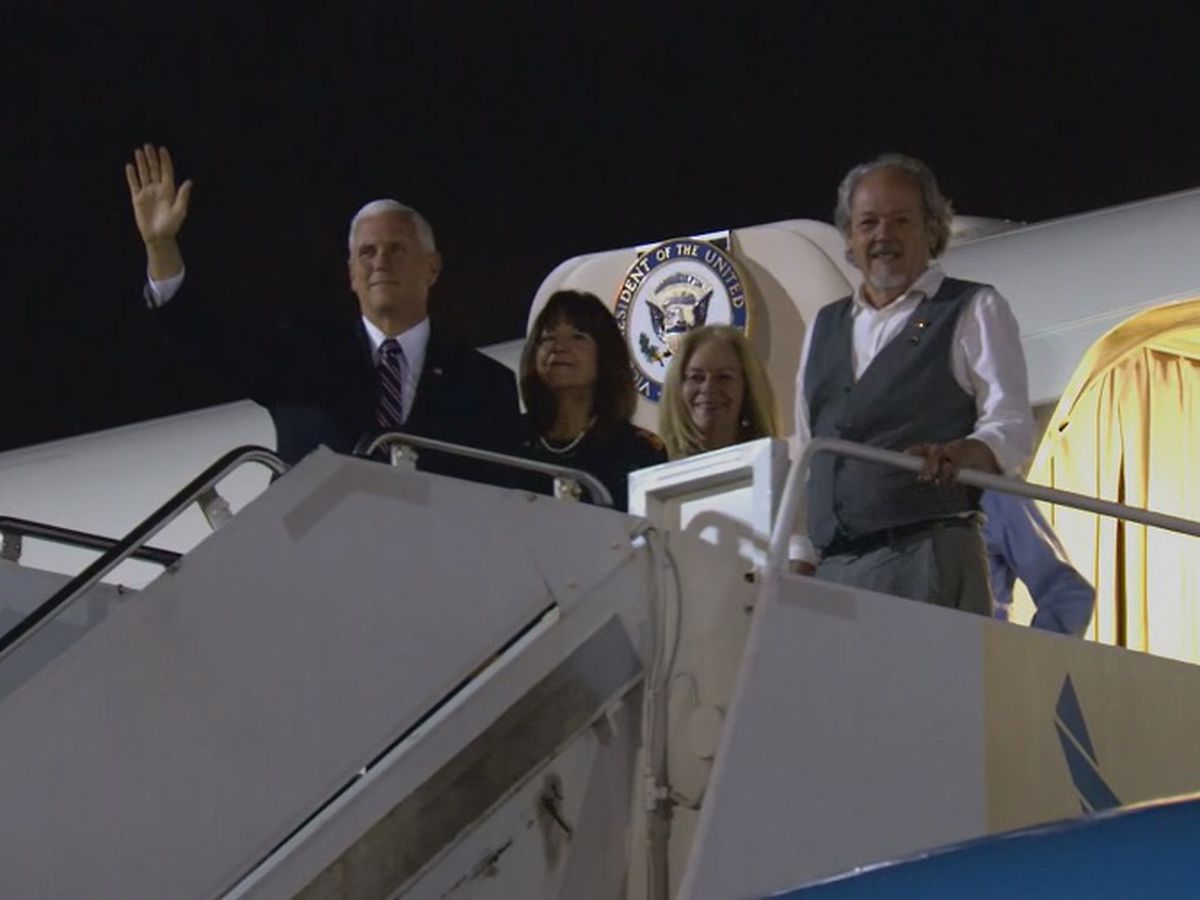 Vice President Mike Pence, second lady to make brief stop on Oahu