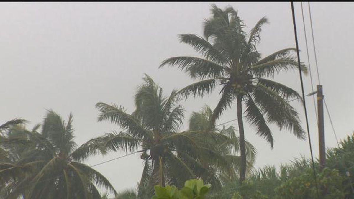 Flash flood watch issued for Big Island, Maui County