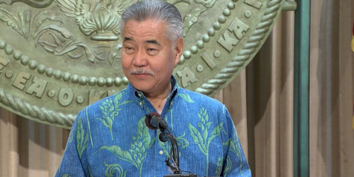 Gov. Ige lays out upcoming priorities in budget proposal
