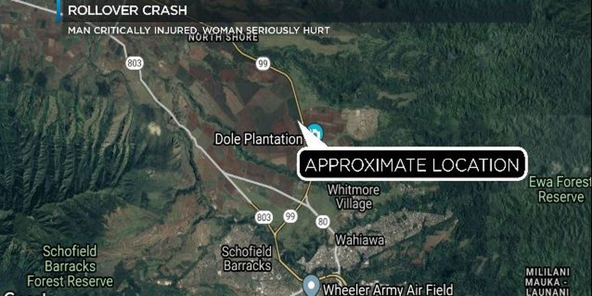 Man dies after rollover crash, marking Oahu's 18th traffic death of the year