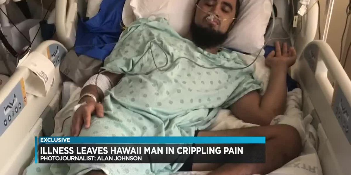 Pain so excruciating, you want to die: A Big Island who doctors suspect has 'suicide disease' seeks relief