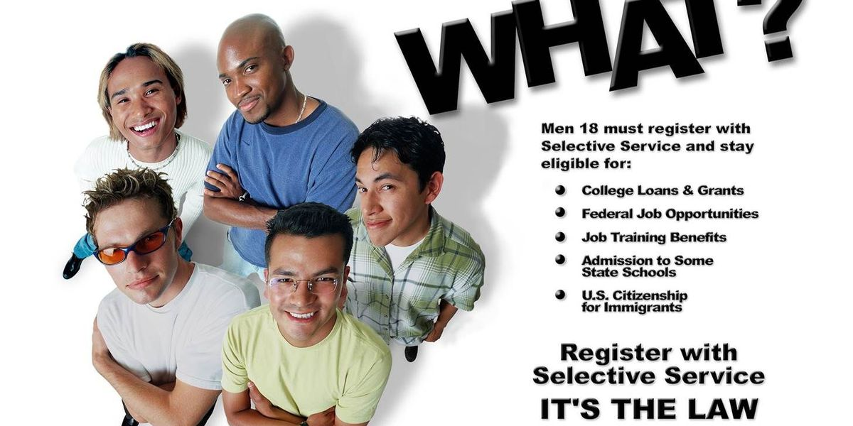 15% of Hawaii's young men aren't registered with Selective Service