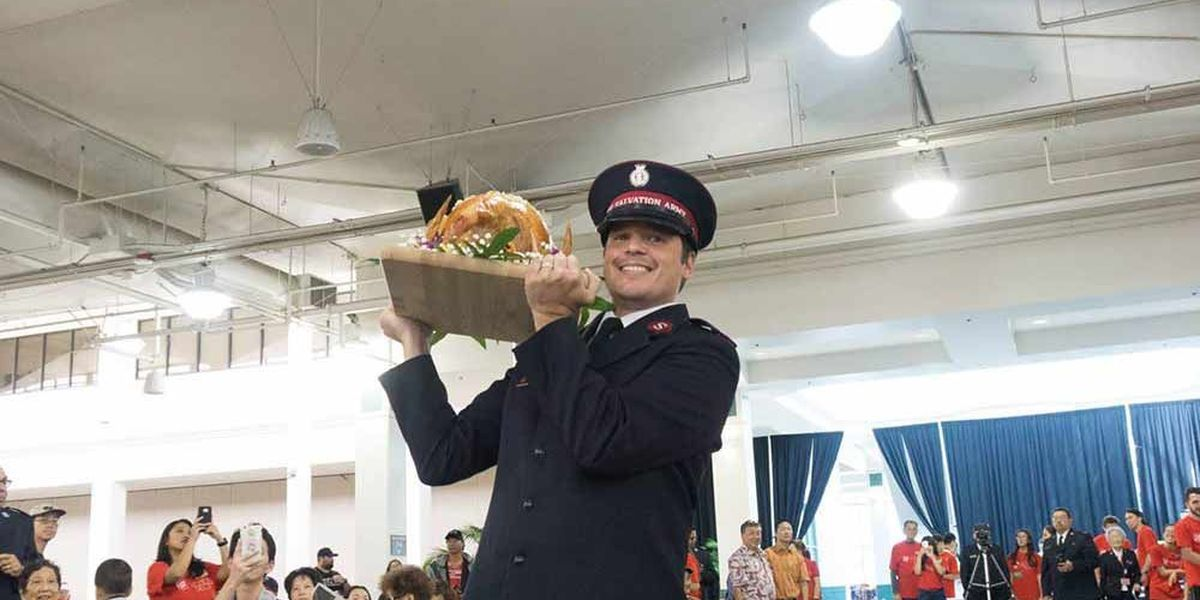 Thousands to come out for Salvation Army's Thanksgiving meals