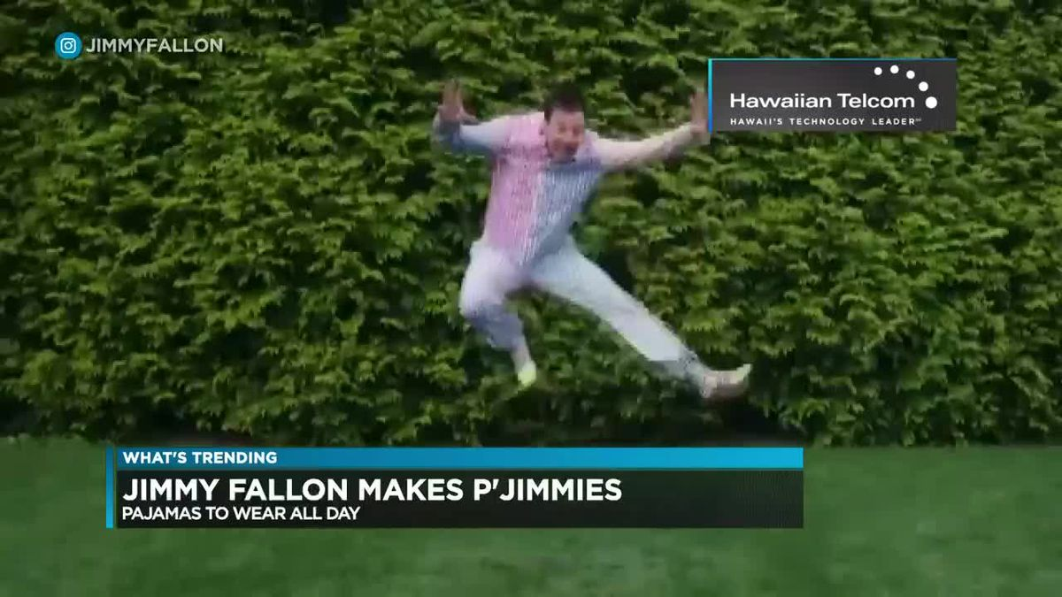 What's Trending: Jimmy Fallon releases new line of pajamas called 'P-Jimmies'