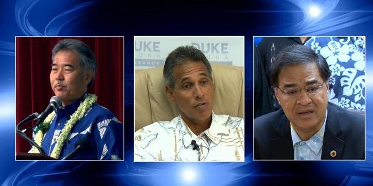 Gubernatorial candidates hold 1st Big Isle debate