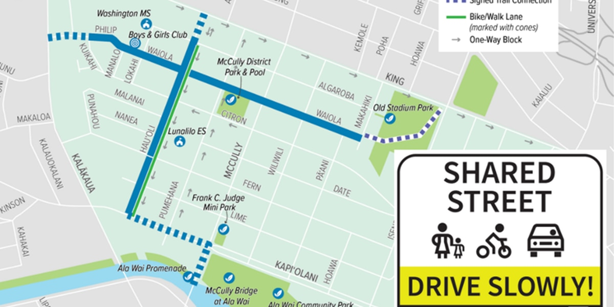 Project to create safe pathways for pedestrians, bikers to launch in McCully