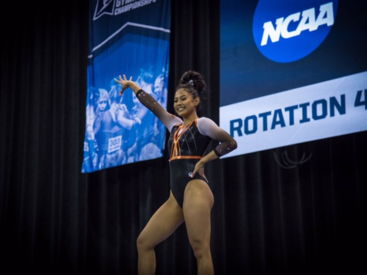 Local Gymnast earns All-American honors