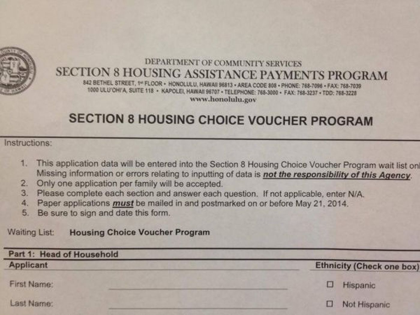 Thousands rush to join Section 8 waiting list