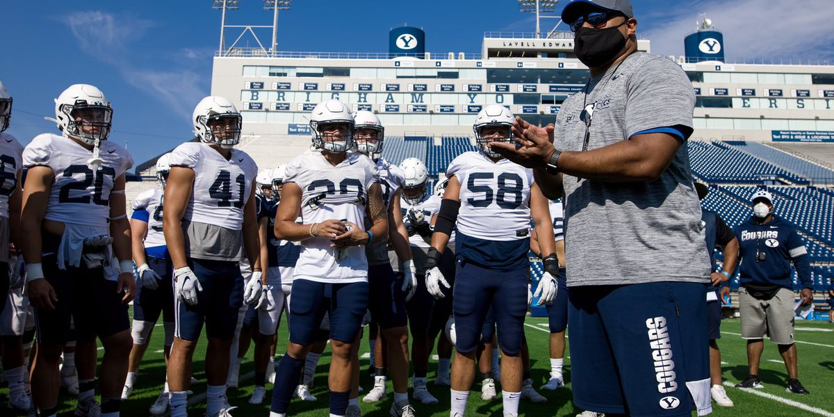 BYU dominates Navy 55-3 as BYU's Kalani Sitake defeats his fellow Laie raised head coach