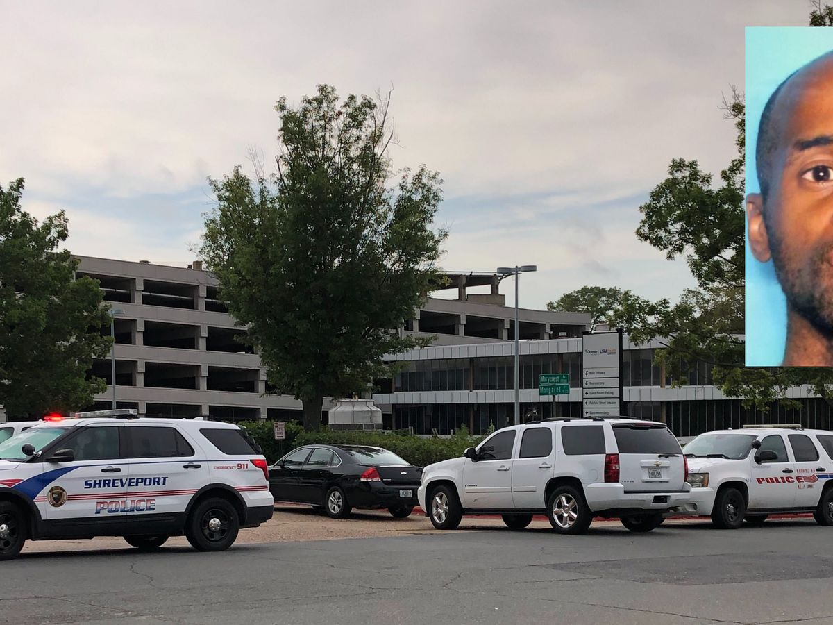 Search finished at Shreveport hospital, gunman not found; now a statewide manhunt